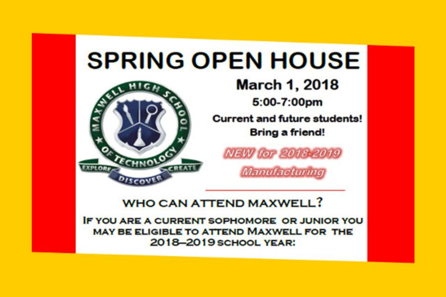 Maxwell Spring 2018 Open House